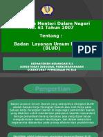 BLUD (Permendagri 61-2007)