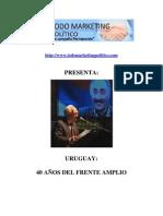 Uruguay 40 años del Frente Amplio