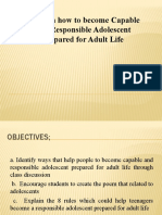 Ways on how to become Capable and Responsible Adolescent prepared for Adult Life.pptx