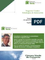 Negocios Verdes - Estrategias de Innovación - Sep 27 2020