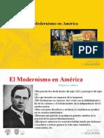 Presentación El modernismo latinoamericano.ppt