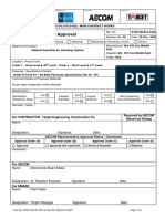 Material Approval & Specification Comparison sheet