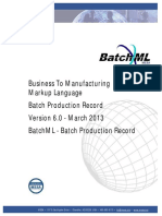 BatchML-V0600-BatchProductionRecord