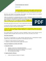 OBJETIVOS Y CONTENIDO DE LA NORMA NORMA ISO 22301-2019