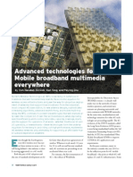 Advanced technologies for 4G