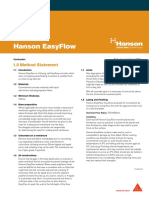 hanson-easyflow-method-statement
