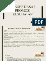 Konsep dasar promkes (ppt yanne)