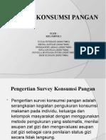 PPT survey konsumsi pangan