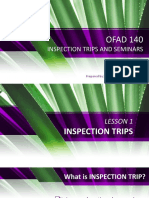 LESSON-1(inspection trips)
