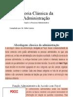 Teoria Clássica da Administração de Henri Fayol