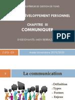 Support de cours Développement Personnel- Communiquer 2LFG