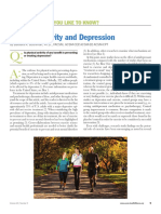 acsm-Physical Activity and Depression