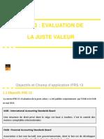 IFRS 13 Evaluation de la Juste Valeur