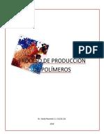 PROCESO DE PRODUCCIÓN DE POLÍMEROS