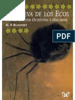 (H.P. Blavatsky) - La cueva de los ecos y otros cuentos ocutistas y macabros