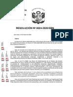Resolucion 0024-2020-sbn - Habilitan Mesa de Partes Virtual - MPV