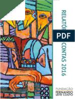 Fundação FLC - Relatório Anual de Actividades 2016
