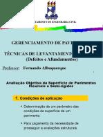 09 - TÉCNICAS DE LEVANTAMENTO DE DADOS (Defeitos e Afundamento)