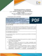 Guía de Actividades y Rubrica de Evaluación - Unidad 2 - Fase 3 - Proponer Un Plan de Financiación