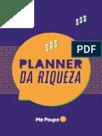 Planner da Riqueza