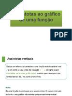 PPT 10 ASSINTOTASFUNÇÕES3