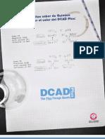 DCAD Plus  Detailer - Spanish