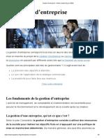 Gestion d'Entreprise _ Guide Complet (à Jour 2020)