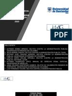 UDES PENAL ESPECIAL PRIMER CORTE MATERIAL COMPLEMENTARIO