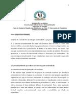 2 Testes de Filosofia da PM-Miguel Dinis Fernando