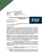 209-2016 PRORROGA DE PLAZO FORMALIZACION + OFICIO - Usurpación