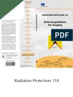 EC 2001 rad protect 118 Referral guide