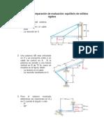 Ejercicios Preparación Evaluación Equilibrio de Sólidos Rígidos (1)