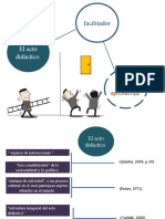 El acto didactico facilitador del aprendizaje