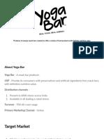 YogaBar- Final