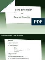 Système d'information&BD