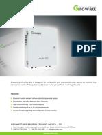 Growatt Anti-Reflux Box Technical Specification2828681009268307764