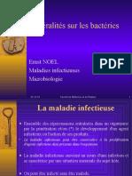 Généralités sur les bactéries