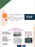 Introduction a la Microbio