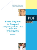 From Neglect to Respect
