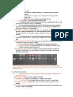 resumão prova pratica biomol 2019