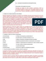 RESPOSTAS EXERCICIOS PROVA 2 – MUTAÇÃO E MECANISMOS DE REPARAÇÃO DO DNA