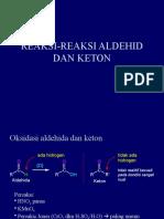3. REAKSI-REAKSI ALDEHID DAN KETON