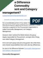 commodity managemenet vs category mangement.pdf