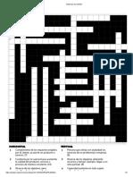 Sistemas de Gestión- Crucigrama