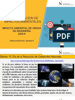Semana 8  interpretacion de impactos ambientales