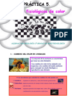 Práctica 5. Cambios fisiológicos de color (presentación)