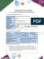 Guía de actividades y rúbrica de evaluación - Tarea 3 - Reconocieminto de perfil del licenciado-1.docx