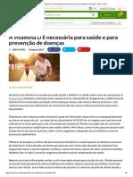 A vitamina D é necessária para saúde e para prevenção de doenças.pdf