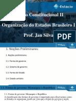 D. Const. II Aula 1- Organização do Estado