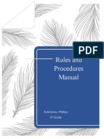 rules and procedures manual